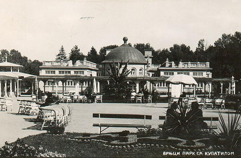 Vrnjačka Banja park sa kupatilom