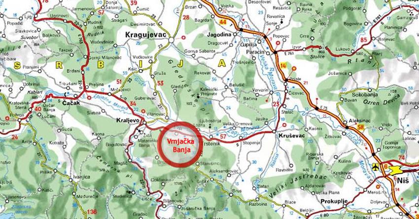 Mapa Srbije Nadmorske Visine Superjoden