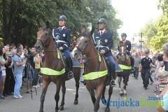 Defile policije u Vrnjačkoj Banji